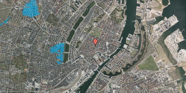Oversvømmelsesrisiko fra vandløb på Gråbrødretorv 7, 2. th, 1154 København K