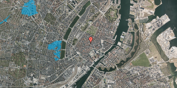 Oversvømmelsesrisiko fra vandløb på Gråbrødretorv 9, st. th, 1154 København K