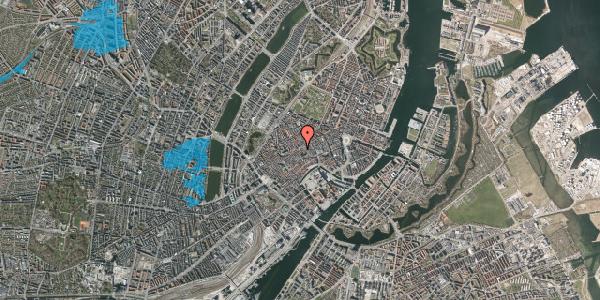 Oversvømmelsesrisiko fra vandløb på Gråbrødretorv 11, 2. tv, 1154 København K