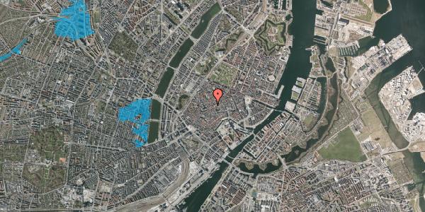 Oversvømmelsesrisiko fra vandløb på Gråbrødretorv 12, 1. , 1154 København K