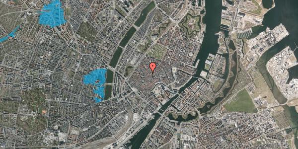 Oversvømmelsesrisiko fra vandløb på Gråbrødretorv 14B, 1. , 1154 København K