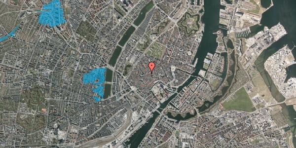 Oversvømmelsesrisiko fra vandløb på Gråbrødretorv 16A, 1. , 1154 København K