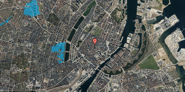 Oversvømmelsesrisiko fra vandløb på Gråbrødretorv 16, 1. , 1154 København K