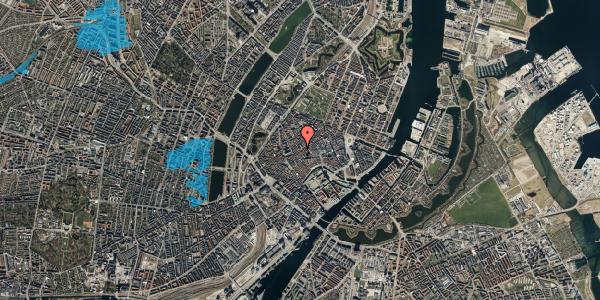 Oversvømmelsesrisiko fra vandløb på Gråbrødretorv 16, 3. , 1154 København K
