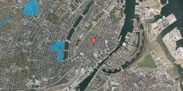 Oversvømmelsesrisiko fra vandløb på Gråbrødretorv 19, st. , 1154 København K