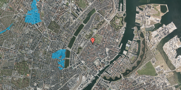 Oversvømmelsesrisiko fra vandløb på Hausergade 38, kl. , 1128 København K