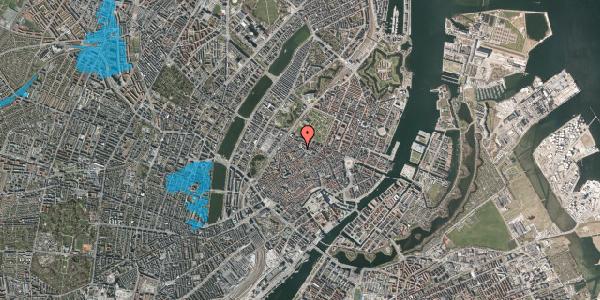 Oversvømmelsesrisiko fra vandløb på Hauser Plads 12, 3. , 1127 København K