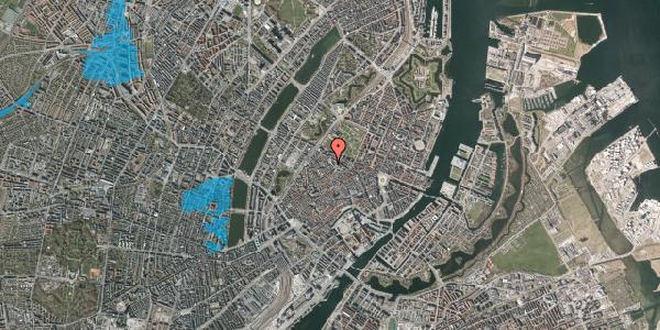 Oversvømmelsesrisiko fra vandløb på Hauser Plads 14, 3. , 1127 København K