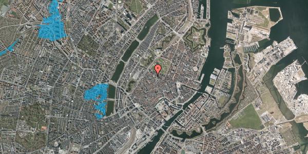 Oversvømmelsesrisiko fra vandløb på Hauser Plads 16A, st. , 1127 København K