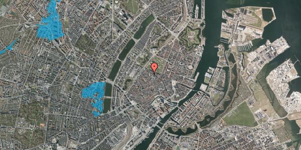 Oversvømmelsesrisiko fra vandløb på Hauser Plads 16C, st. , 1127 København K