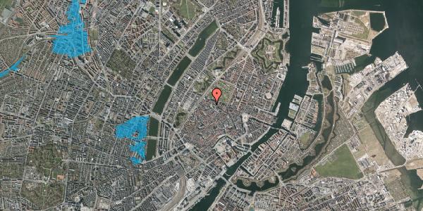 Oversvømmelsesrisiko fra vandløb på Hauser Plads 18, kl. , 1127 København K