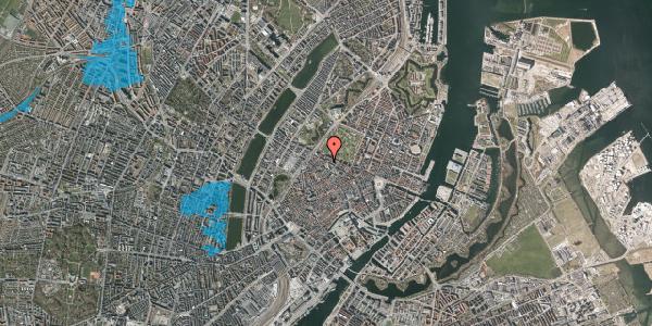 Oversvømmelsesrisiko fra vandløb på Hauser Plads 24, 2. tv, 1127 København K