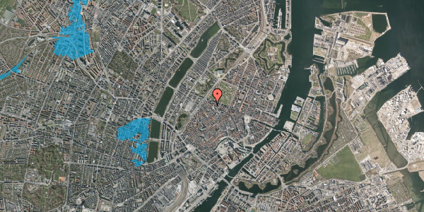 Oversvømmelsesrisiko fra vandløb på Hauser Plads 26, st. , 1127 København K