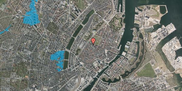 Oversvømmelsesrisiko fra vandløb på Hauser Plads 26, 3. , 1127 København K