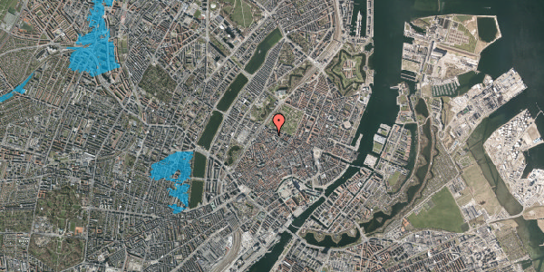 Oversvømmelsesrisiko fra vandløb på Hauser Plads 26, 5. , 1127 København K