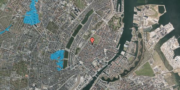 Oversvømmelsesrisiko fra vandløb på Hauser Plads 28, 2. th, 1127 København K