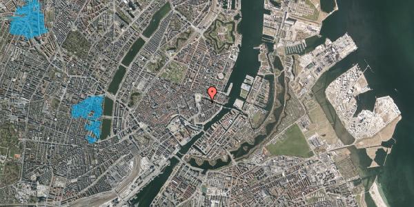 Oversvømmelsesrisiko fra vandløb på Heibergsgade 14, 1. th, 1056 København K