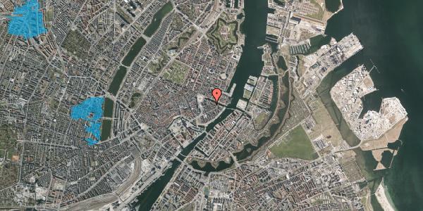 Oversvømmelsesrisiko fra vandløb på Herluf Trolles Gade 5, 3. th, 1052 København K