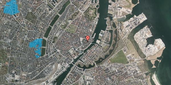 Oversvømmelsesrisiko fra vandløb på Herluf Trolles Gade 6, 2. th, 1052 København K