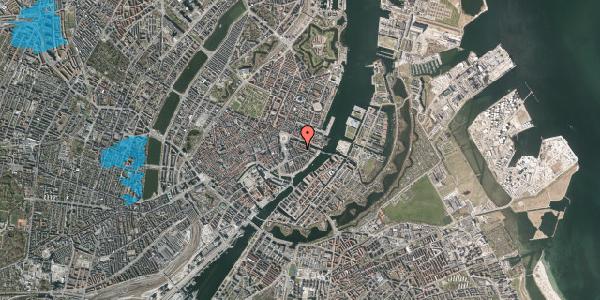 Oversvømmelsesrisiko fra vandløb på Herluf Trolles Gade 8, 2. th, 1052 København K