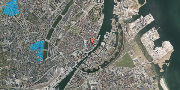 Oversvømmelsesrisiko fra vandløb på Herluf Trolles Gade 8, 5. tv, 1052 København K