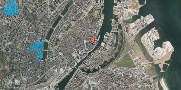 Oversvømmelsesrisiko fra vandløb på Herluf Trolles Gade 9, 4. 2, 1052 København K