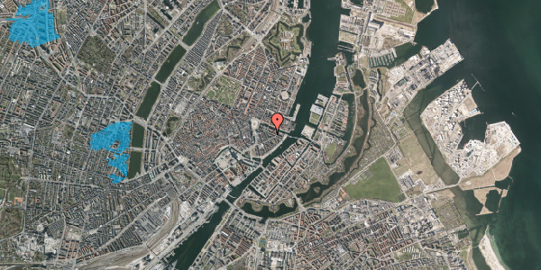 Oversvømmelsesrisiko fra vandløb på Herluf Trolles Gade 12, 1. , 1052 København K