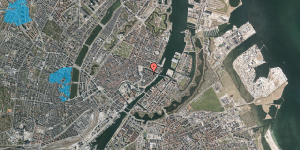 Oversvømmelsesrisiko fra vandløb på Herluf Trolles Gade 16A, 1. , 1052 København K