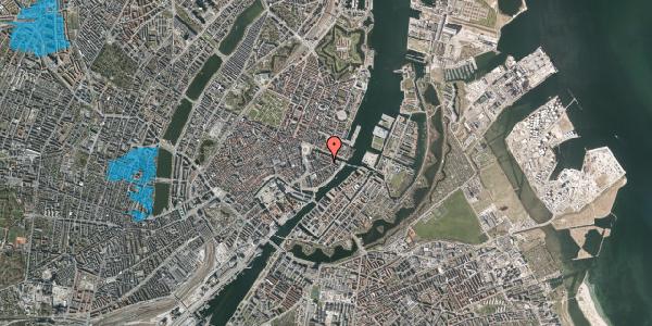 Oversvømmelsesrisiko fra vandløb på Herluf Trolles Gade 16, 1. th, 1052 København K