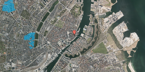 Oversvømmelsesrisiko fra vandløb på Herluf Trolles Gade 16, 3. th, 1052 København K