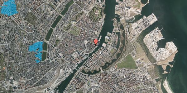 Oversvømmelsesrisiko fra vandløb på Herluf Trolles Gade 19, 1. th, 1052 København K