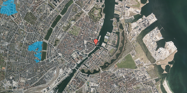 Oversvømmelsesrisiko fra vandløb på Herluf Trolles Gade 21, 2. th, 1052 København K