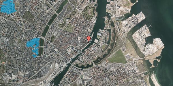 Oversvømmelsesrisiko fra vandløb på Herluf Trolles Gade 22, 4. tv, 1052 København K