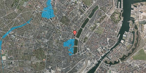 Oversvømmelsesrisiko fra vandløb på Herman Triers Plads 2D, 1631 København V
