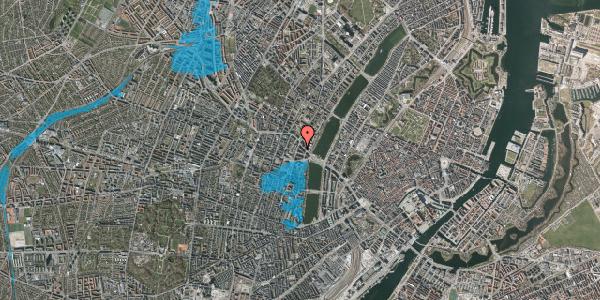 Oversvømmelsesrisiko fra vandløb på Herman Triers Plads 2M, 1631 København V