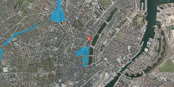 Oversvømmelsesrisiko fra vandløb på Herman Triers Plads 2S, 1631 København V