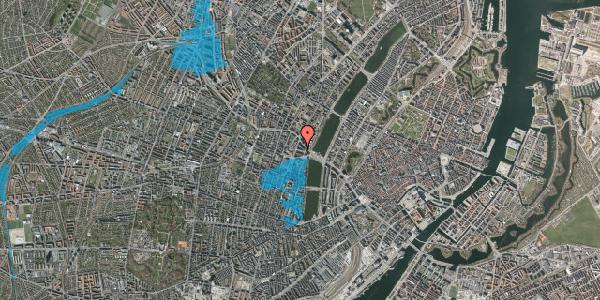 Oversvømmelsesrisiko fra vandløb på Herman Triers Plads 4, st. tv, 1631 København V