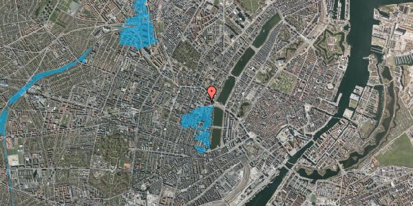 Oversvømmelsesrisiko fra vandløb på Herman Triers Plads 7, 3. tv, 1631 København V