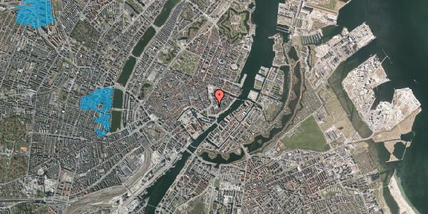 Oversvømmelsesrisiko fra vandløb på Holbergsgade 2, kl. , 1057 København K