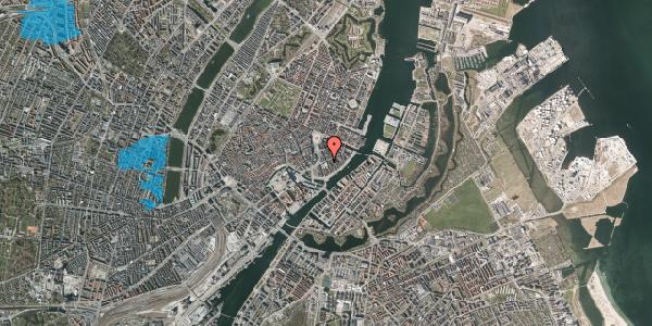 Oversvømmelsesrisiko fra vandløb på Holbergsgade 6, st. tv, 1057 København K