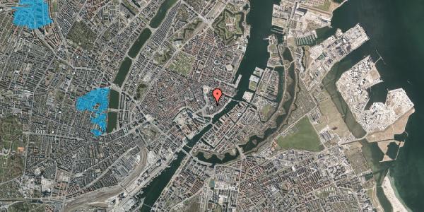 Oversvømmelsesrisiko fra vandløb på Holbergsgade 6, 1. tv, 1057 København K