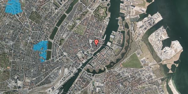 Oversvømmelsesrisiko fra vandløb på Holbergsgade 7A, st. , 1057 København K
