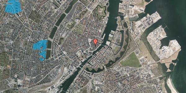 Oversvømmelsesrisiko fra vandløb på Holbergsgade 7, 1. th, 1057 København K