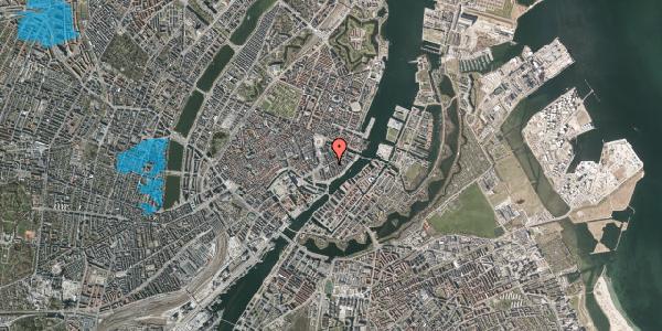Oversvømmelsesrisiko fra vandløb på Holbergsgade 8, kl. , 1057 København K