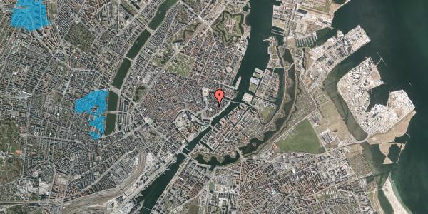 Oversvømmelsesrisiko fra vandløb på Holbergsgade 10, 3. th, 1057 København K