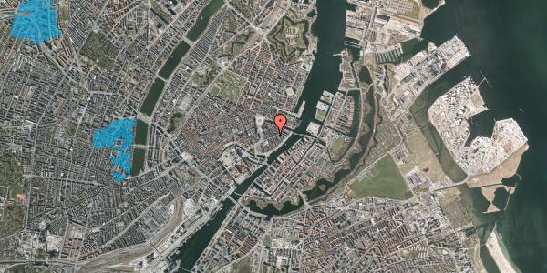Oversvømmelsesrisiko fra vandløb på Holbergsgade 11, 1. th, 1057 København K
