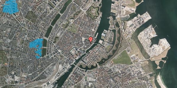 Oversvømmelsesrisiko fra vandløb på Holbergsgade 15, 3. th, 1057 København K