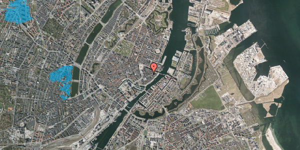 Oversvømmelsesrisiko fra vandløb på Holbergsgade 15, 4. th, 1057 København K