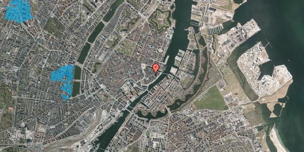 Oversvømmelsesrisiko fra vandløb på Holbergsgade 16, 4. th, 1057 København K