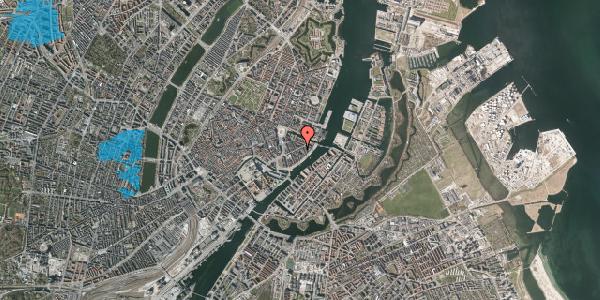 Oversvømmelsesrisiko fra vandløb på Holbergsgade 18, 1. th, 1057 København K